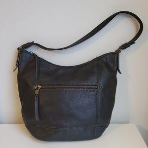 The Sak 100% Leather Hobo Shoulder Purse Bag Large